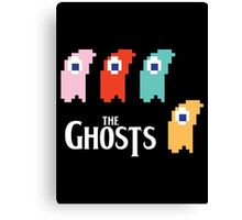Ghostmania with The Ghosts Canvas Print