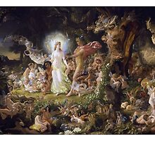 The Quarrel of Titania and Oberon by Amantine