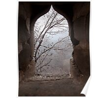 Looking through a port hole on The Great Wall of China 2 Poster