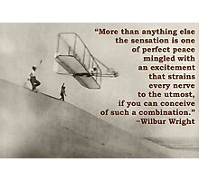 More Than Anything Else - Wilbur Wright  Photographic Print