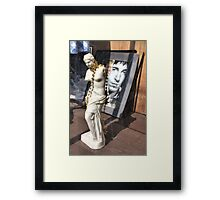 Bruce Busted Framed Print