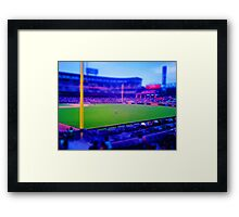 White Sox vs Blue Jays Framed Print