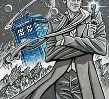 The Twelfth Doctor by Raine  Szramski