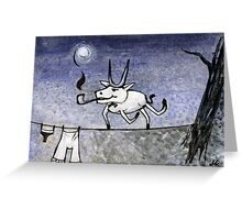 Night Guest Greeting Card