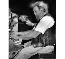 Keyboard Player #1 Photographic Print
