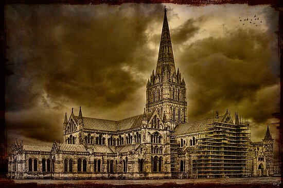 Salisbury Cathedral by Chris Lord