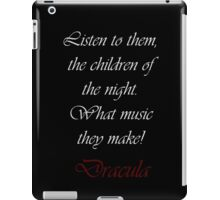 The Children of the Night iPad Case/Skin