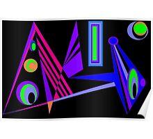 Door Way into the Future Poster