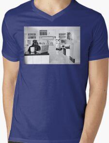 J.R. Died Mens V-Neck T-Shirt