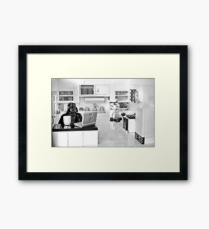 J.R. Died Framed Print