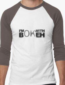 I'm ok with Bokeh! Men's Baseball ¾ T-Shirt