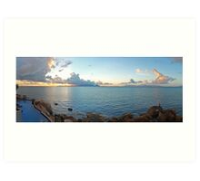 Magnetic Island - Across Cleveland Bay Art Print