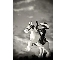 Lone Ranger Photographic Print