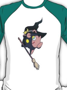 Broom-Riding Witch Jigglypuff T-Shirt