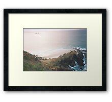 Calm Creativity Born on the Ocean Blue. Framed Print