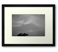 Dance of the Clouds Framed Print