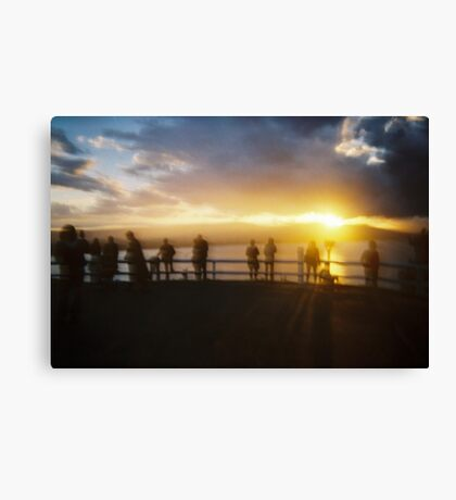 Silent Sentinels Canvas Print