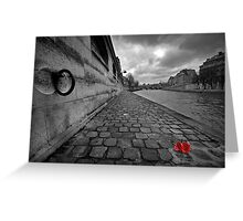 Lost roses Greeting Card