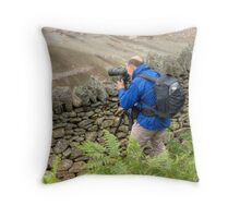 Over the Wall.... Throw Pillow