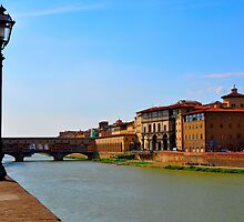 Arno River Quay III by Denis Molodkin