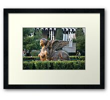 Out For a Stroll In The Sunshine Framed Print
