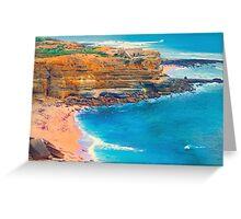 Ericeira beach Greeting Card