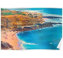 Ericeira beach Poster