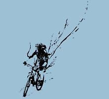 mountain bike splatter Unisex T-Shirt