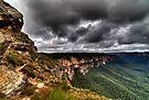 Grose Valley The Blue Mountains Australia HDR by DavidIori
