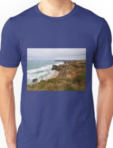 Bedruthan Steps  in Cornwall Unisex T-Shirt