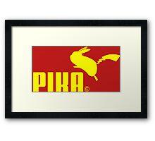 pika pika pikachu ! Framed Print