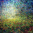 Mystical Landscape (Impasto) by Alan Kenny