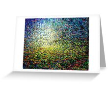 Mystical Landscape (Impasto) Greeting Card