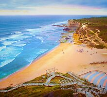 Ericeira beach july 2015 sunset by terezadelpilar~ art & architecture