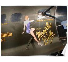 Memphis Belle's Nose Art Poster