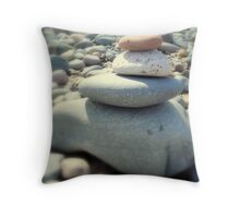 Zen ~ On The Beach ~ Throw Pillow