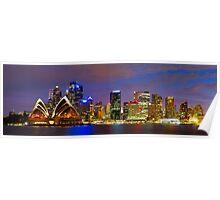 Sydney Opera House and CBD Poster