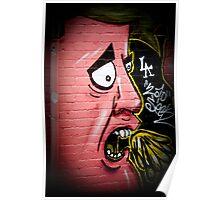 Gettung Sick street art Poster