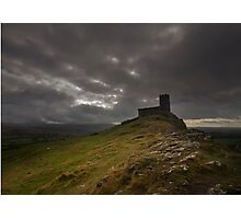 Brentor Church gothic Photographic Print