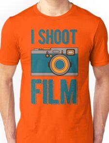 I Shoot Film - Vintage Camera Design Unisex T-Shirt