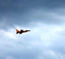 RNAF F-16 by Emma Wright