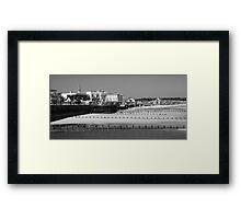 Bridlington North Beach Framed Print