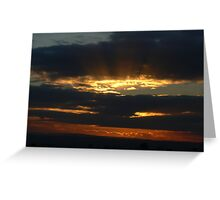 Cleland Sunset Greeting Card