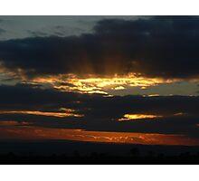 Cleland Sunset Photographic Print