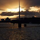 Sunburst over Clyde by mikekane