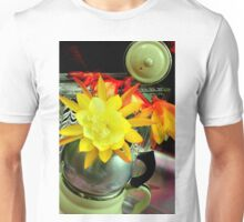 French Gold With Silver Trim Unisex T-Shirt