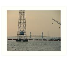 James River Bridge Art Print
