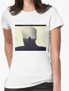 True Detective opening theme shot  Womens Fitted T-Shirt