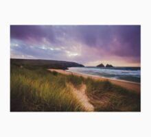 Holywell bay spectacular sunset Kids Clothes