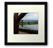 The Little Bridge Into Flores Framed Print